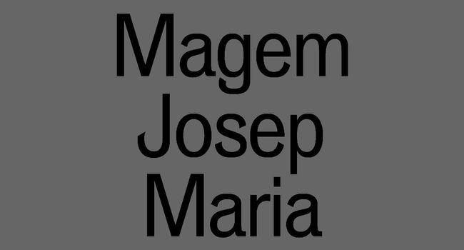 Presentació del catàleg sobre el dissenyador sabadellenc Josep Maria Magem