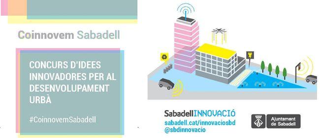 Lliurament dels premis del Concurs d'Idees Innovadores per al desenvolupament urbà #Coinnovem Sabadell