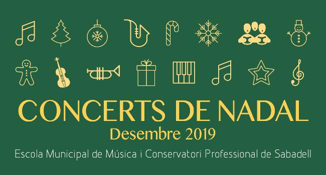 Els concerts de Nadal de l'Escola Municipal de Música i Conservatori comencen el 10 de desembre