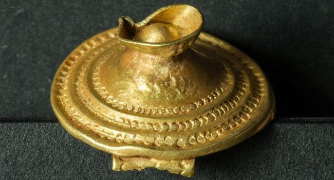 Conferència sobre ornaments d'or prehistòrics, amb motiu de la joia exposada al Museu d'Història
