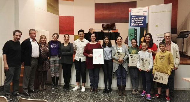 El Conservatori de Sabadell acull una classe magistral a càrrec de la soprano Marta Mathéu