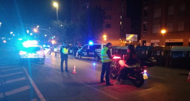 La Policia Municipal desplegarà diferents actuacions de vigilància i control per garantir el compliment de les restriccions a la mobilitat previstes per l'Estat d'Alarma