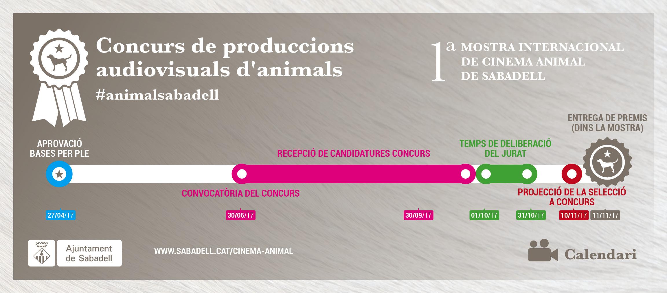 Concurs de produccions audiovisuals #AnimalSabadell