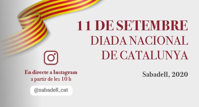 La Diada Nacional de Catalunya serà enguany de petit format, atesa l'actual situació sanitària