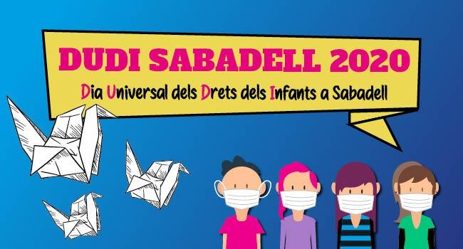 La celebració del Dia Universal dels Drets de la Infància s'adapta a l'estat d'alarma