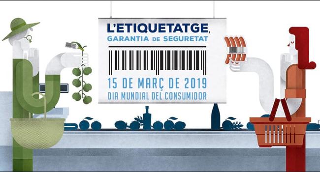 Adhesió a la campanya per a l'etiquetatge dels productes frescos, coincidint amb el Dia Mundial del Consumidor