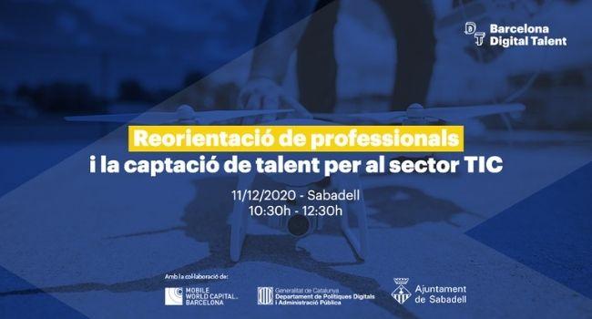 L'Ajuntament de Sabadell participa en el projecte Barcelona Digital Talent per captar i retenir professionals en el sector TIC