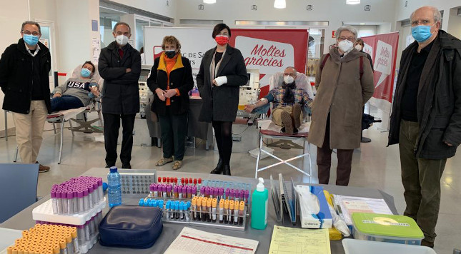 L'Antic Mercat de Sant Joan acull les primeres donacions de plasma a Sabadell