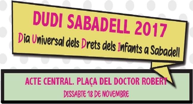 Sabadell ja és municipi aliat del programa Ciutats Amigues de la Infància