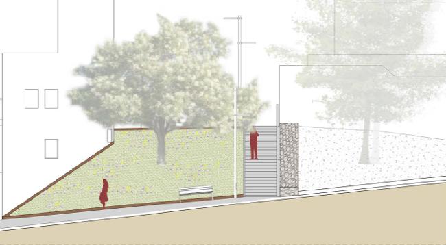 L'Ajuntament farà unes noves escales per comunicar els carrers dels Celtibers i del Maestrat, a Can Puiggener