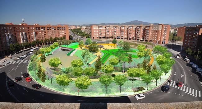 Comencen les obres de la segona fase de la plaça d'Espanya, que permetran recuperar-la com a espai públic ciutadà a l'estiu