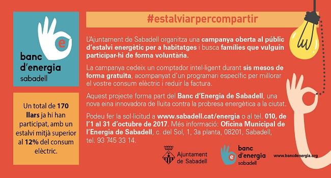 L'Ajuntament de Sabadell avança en l'eficiència energètica