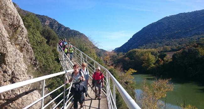 Comença la temporada d'excursions de natura per a la gent gran