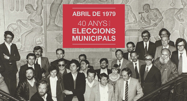L'exposició sobre els 40 anys de les eleccions municipals arriba al Museu d'Història després d'un any d'itinerància