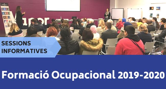 Noves sessions informatives sobre l'oferta de tardor de formació ocupacional del Centre de Formació Cal Molins