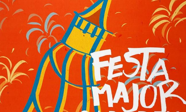 El cartell de la Festa Major del 2018 és obra de Pau Manzano, alumne de l'Escola Illa