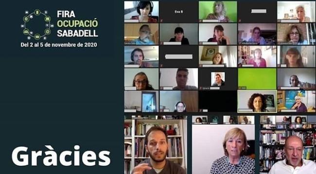 L'estrena de Fira Ocupació Sabadell íntegrament en format telemàtic reuneix més de 1.100 participants entorn a activitats, entrevistes laborals i borses de treball