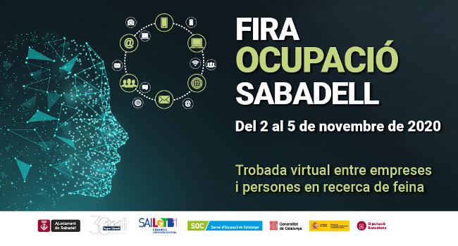 La Fira Ocupació Sabadell s'estrena en format telemàtic com una trobada entre empreses i persones que busquen feina