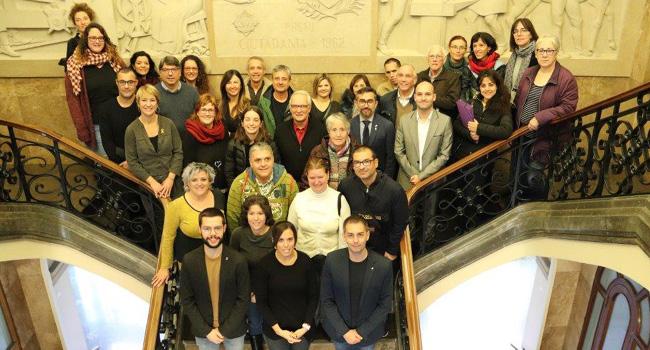 Rebuda institucional amb motiu del Dia Internacional de les Persones amb Discapacitat