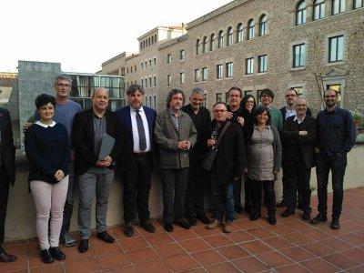 Sabadell va rebre ahir el Premi Catalunya Territori Enric Lluch per l'Estudi previ del Pla Especial de camins