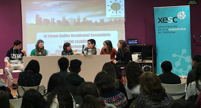 La 4a edició del Fòrum del Vallès Occidental de Secundària ha girat al voltant del canvi climàtic