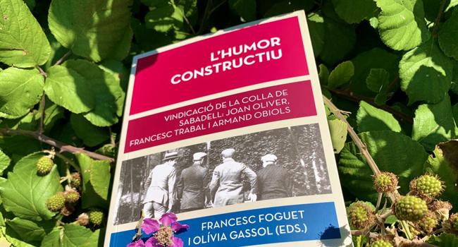 """Es publica el llibre """"L'humor constructiu"""", que recull les intervencions pronunciades al simposi sobre la Colla de Sabadell"""