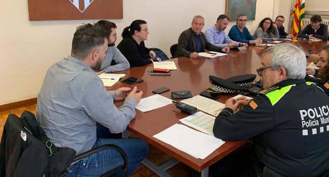 L'Ajuntament activa el Pla de Protecció Civil Municipal per l'episodi de vent i pluja