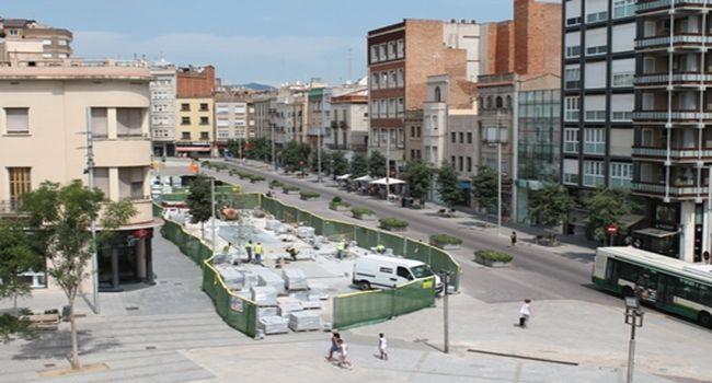 Les obres de pavimentació del Passeig avancen al ritme previst