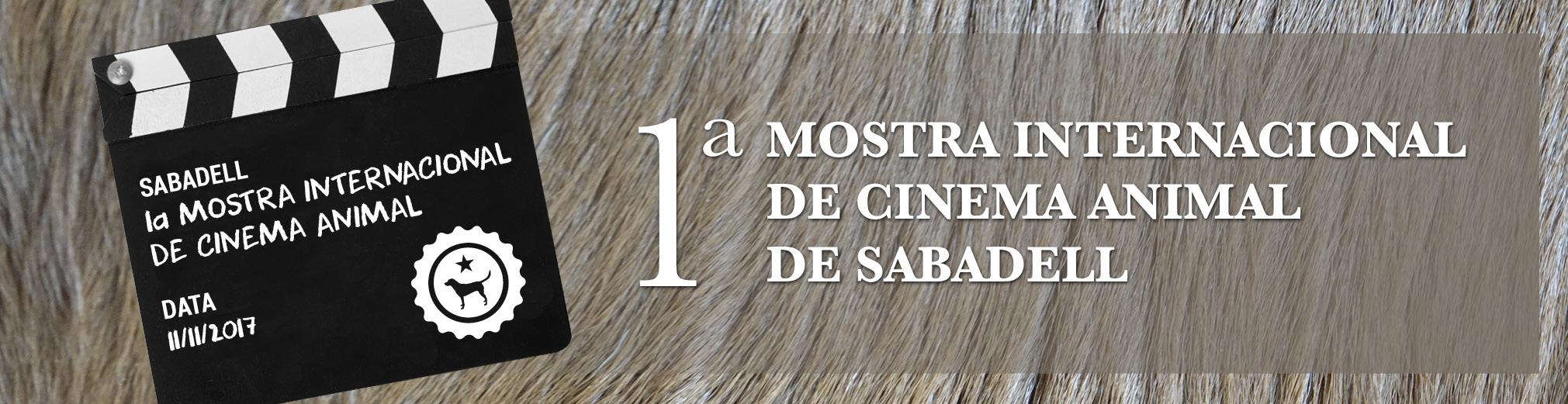 Sabadell impulsa la 1ª Mostra Internacional de Cinema Animal de Sabadell