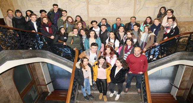 L'Institut Ferran Casablancas rep aquests dies alumnat romanès, en el marc d'un intercanvi d'estudis