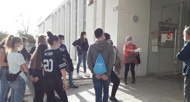 Alumnat de l'institut Ribot i Serra estudia la implementació d'accions comunitàries a Torre-romeu