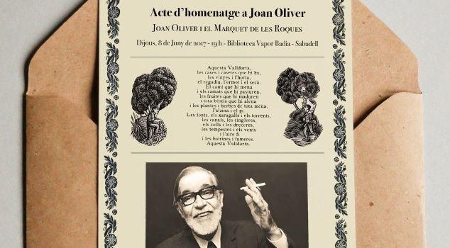 Lectura de poemes de Pere Quart a la Biblioteca Vapor Badia