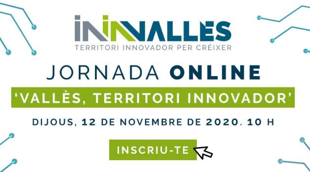 Inscripció oberta a la jornada Vallès, Territori Innovador sobre la capacitat d'innovació d'empreses i entitats locals