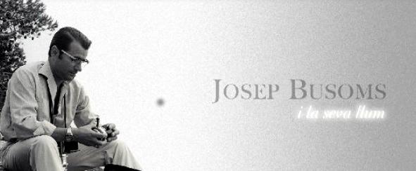 """L'exposició fotogràfica """"Josep Busoms i la seva llum"""" es podrà veure a l'Institut d'Estudis Fotogràfics de Catalunya"""
