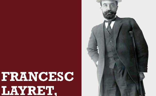 Visita guiada a l'exposició sobre Francesc Layret, al Museu d'Història, el dia que es clou la mostra