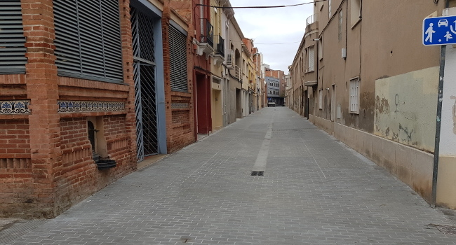 Les obres dels carrers de Llobet i de les Paus han finalitzat