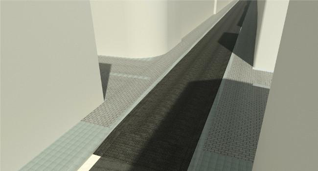 Els carrers de Llobet i de les Paus tindran la calçada al mateix nivell que la vorera