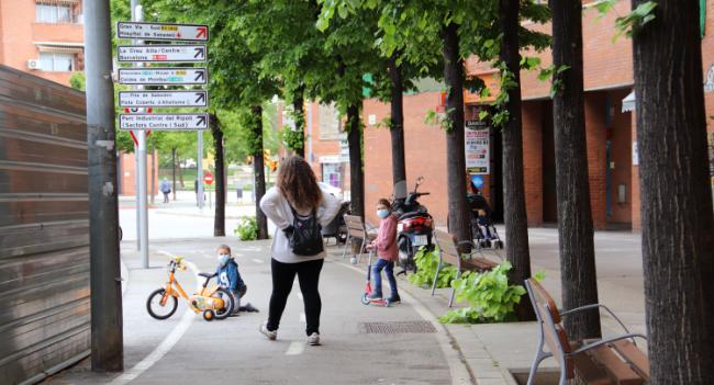 L'Ajuntament posarà en marxa una sèrie de mesures en la mobilitat i l'espai públic després de la primera jornada amb infants al carrer
