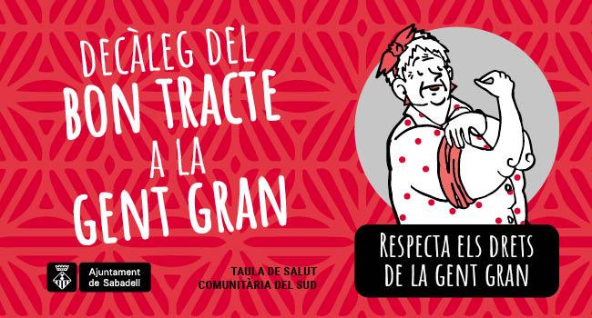 Alumnes dels instituts Ribot i Serra i Les Termes elaboren un decàleg i s'impliquen en la sensibilització sobre el bon tracte a la gent gran
