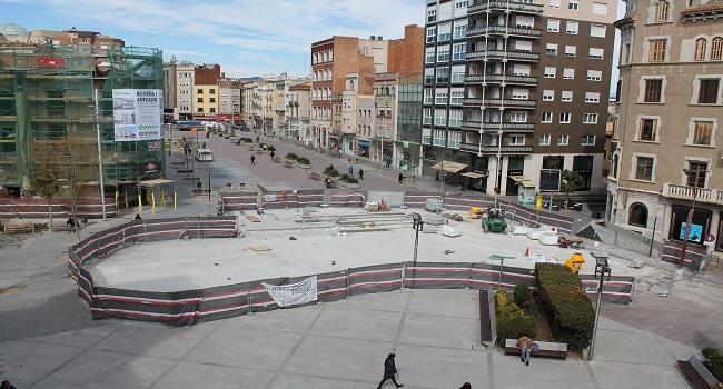 Les obres dels extrems del Passeig finalitzaran un mes abans del previst