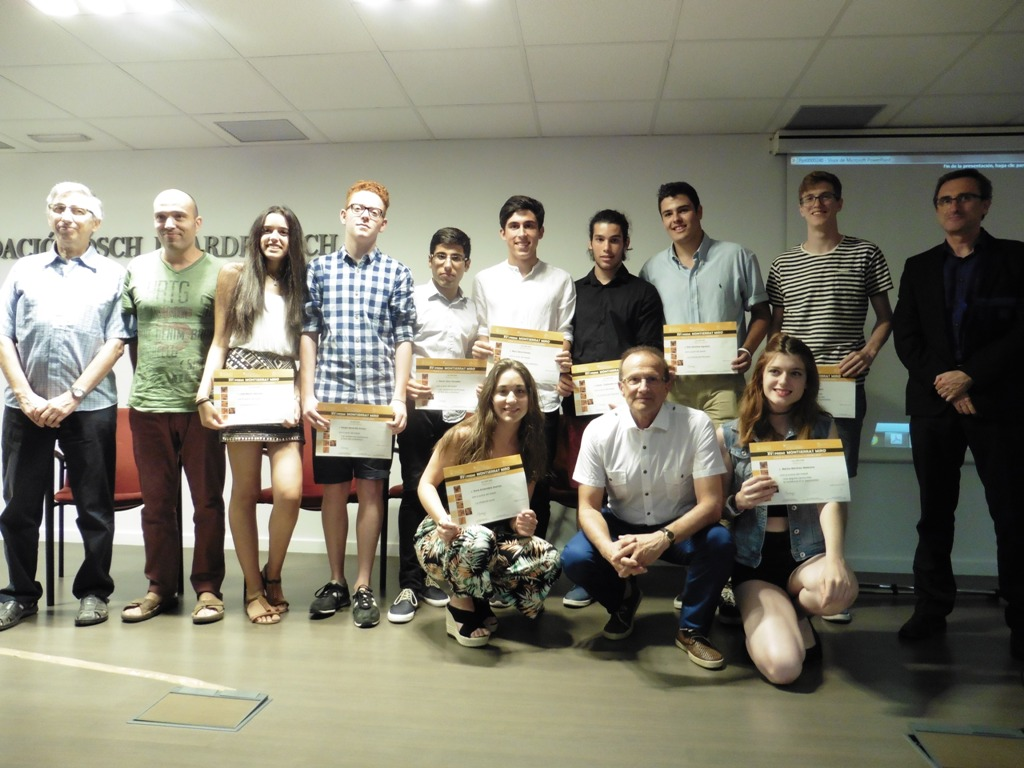Lliurament dels Premis Montserrat Miró i Marimon als treballs de recerca d'alumnes de batxillerat