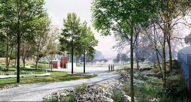 L'Ajuntament presenta el projecte guanyador del concurs del parc del Nord