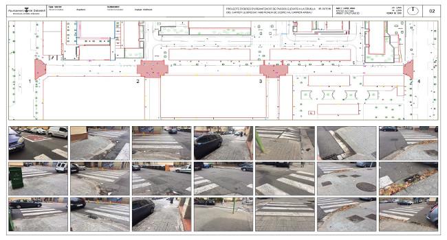 Adjudicades les obres que han de millorar la mobilitat a dos punts dels barris de Torre-romeu i d'Espronceda