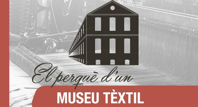 """Presentació del llibre """"El perquè d'un Museu Tèxtil a Sabadell"""", al Museu d'Història"""