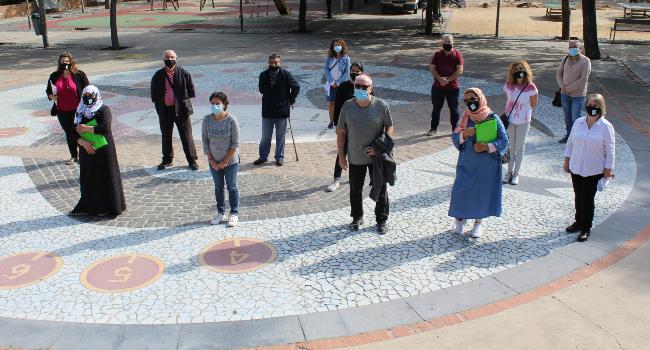 En marxa el projecte A-porta, al barri de Can Puiggener, amb estrictes mesures de seguretat sanitària