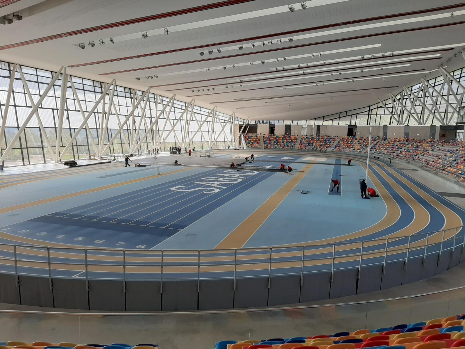 La Pista Coberta d'Atletisme de Sabadell acollirà l'Hospital Temporal Vallès Salut per donar suport al Parc Taulí