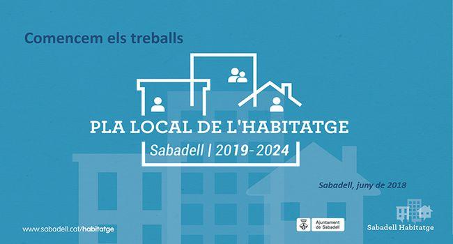 El nou Pla Local d'Habitatge garantirà que tota la ciutadania pugui disposar d'un habitatge digne