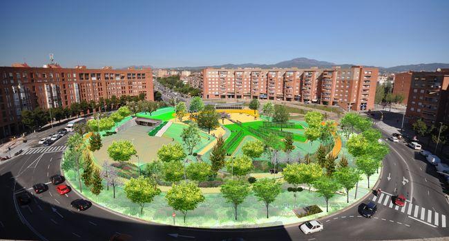 La plaça d'Espanya es configurarà com un petit jardí dins la ciutat