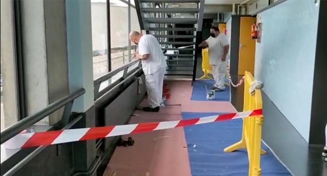 Persones en atur fan feines de manteniment i millora d'espais de la ciutat amb diferents programes d'ocupació