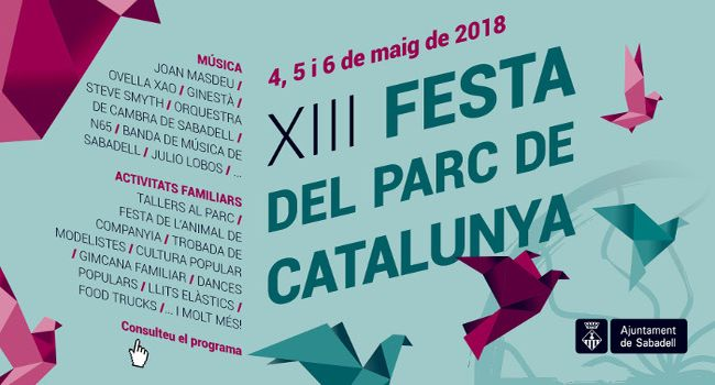 El parc de Catalunya s'omplirà d'activitats lúdiques i familiars el primer cap de setmana de maig